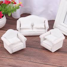 1 12 Pretend Play Toy Miniature Sofa Set Living Room Furniture Accessories Toy For Children Kids Gift Simulation Dollhouse Sofa Furniture Toys Aliexpress