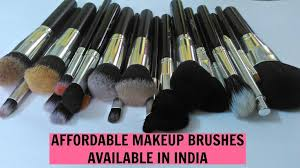 affordable makeup brushes india