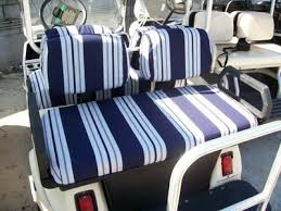 golf cart seat back covers ezgo