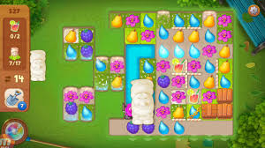 gardenscapes level 527 how to beat