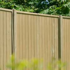 Hartwood 5 X 6 Vertical Tongue Groove Pressure Treated Fence Panel
