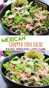 Mexican Chopped Tuna Salad: No Cooking ...