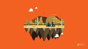 free wallpaper vector island native