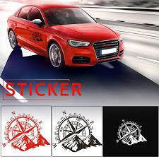 48 34cm Car Decal Hood Decals Checkered Flags Stripe Mountain Car Hood Graphic Decal Auto Vinyl Sticker Universal Car Stickers Aliexpress