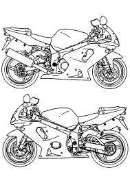Kleurplaat Moto Gratis Kleurplaten Om Te Printen