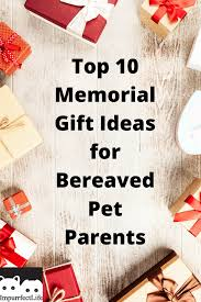 gift ideas for bereaved pet pas