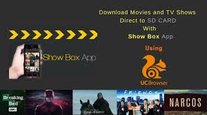 Show Box : Download Movies & TV Shows directly to SD Card from Show Box App  - YouTube
