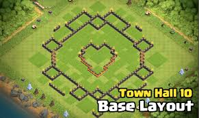 Best Town Hall 10 Base Design Layout ...