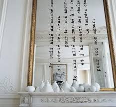 a fabulous mirror diy mirror writing