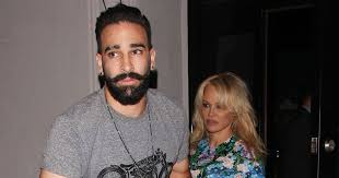 Adil Rami responds to reports he has broken up with Pamela Anderson -  Mirror Online
