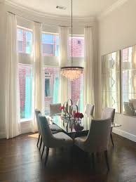 Drapery Curtains Dining Room Windows