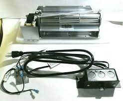 replacement fireplace blower kit