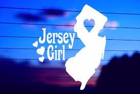 Nj Jersey Girl Car Decal Sticker