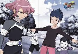Inazuma Eleven GO/#1205476 - Zerochan - Alpha and Yuichi; probably ...