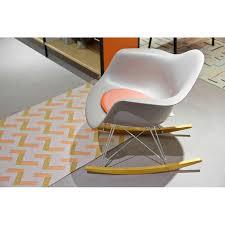 vitra eames rar rocking chair white
