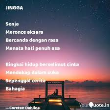 jingga senja meronce aks quotes writings by lin na yourquote