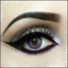 bridal makeup for small eyes cat eye