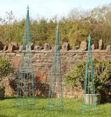 garden obelisk handmade wrought iron