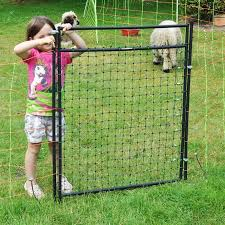 Gate For Electric Fence Netting Electrifiable Complete Kit 125cm