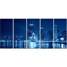 Chicago Skyline Wall Art Wayfair