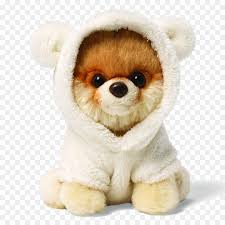 pomeranian boo bear stuffed toy gund