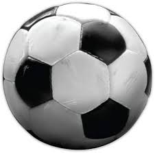 Amazon Com Soccer Ball Large Size Vinyl Sticker Decal For Truck Car Cornhole Board Sports Outdoors
