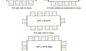 dining table size per person archives