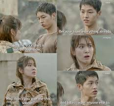 shine smile amazing quotes from the drama descendants of the sun