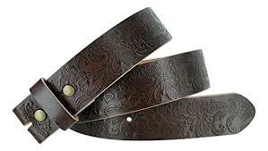 full grain leather belt strap