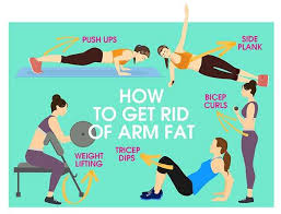 how to reduce arm fat quickly femina in