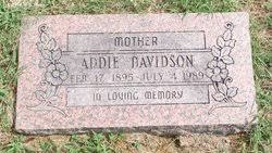 Addie Laffoon Davidson (1895-1989) - Find A Grave Memorial