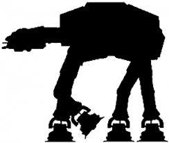 Star Wars Walker At At Car Or Truck Window Decal Sticker Rad Dezigns