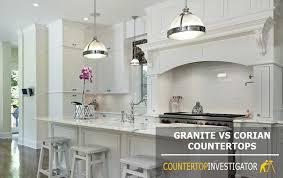 granite vs corian which countertop