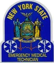 N Y State Emt Window Sticker Item Emtwin