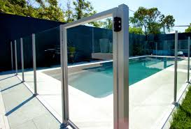 Glass Pool Fencing Automatic Sliding Gates Induced Info