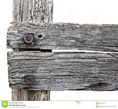 Wooden Fence Post In Closeup View Stock Photo Image Of Wood Aged 33565422