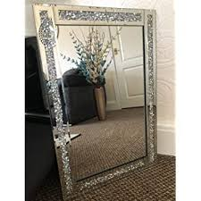 jewel wall mirror loose diamante
