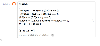 help to solve simultaneous equations