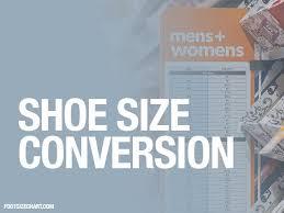 shoe size conversion us uk eu