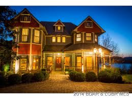 victorian lake front home