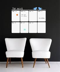 Whiteboard Weekly Calendar Wall Decal Dry Erase Calendar Etsy In 2020 White Board Weekly Wall Calendar Wall Planner