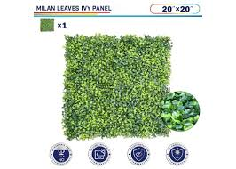 20 X 20 Milan Leaves 1pc Ivy Leaf Decorative Fence Screen Windscreen4less
