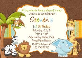 Jungle Birthday Invitations Buscar Con Google Invitaciones De