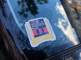 Decals Stickers Boston Red Sox World Series 2018 Champions Die Cut Vinyl Decal Sticker Collectibles Cub Co Jp