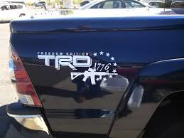 Product 2 Side Toyota Trd Truck Off Road Freedom Edition 4x4 Toyota Racing Tacoma Decal Vinyl Sticker