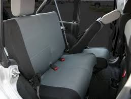 custom fit polycanvas rear seat cover