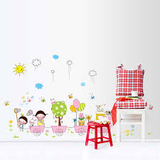 80 110 Cm Summer Camp Wall Stickers Children Home Decor Train Vinyl Kids Room Decal Baby Room Decor Aliexpress