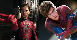 Tobey Maguire and Andrew Garfield are ...