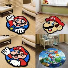 Super Mario Round Carpet Floor Rug Kids Room Chair Garden Floor Pad Mat Kitchen Living Room Non Slip Carpet 3d Rugs Carpet Installations Textured Carpets From Hobarte 13 24 Dhgate Com