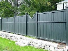 Wood Fence Paint Colors Best Grey Ideas On Small Garden Color Correctly A Dark Sky Wooden Colours Corr Wood Fence Backyard Fences Vinyl Fence